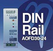 AOFD30-24, DIN Rail